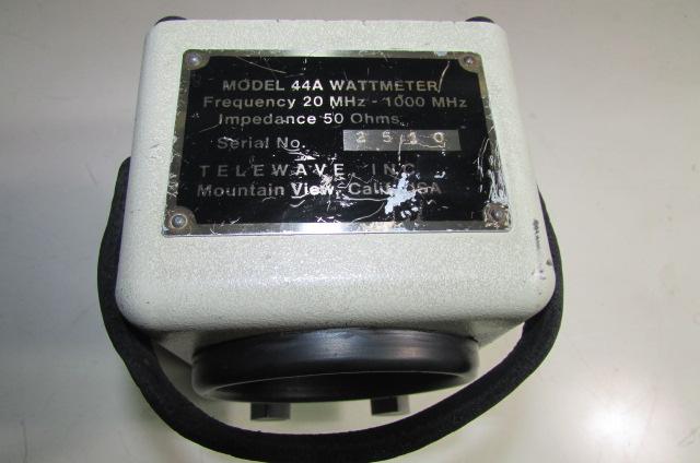 TELEWAVE  44A WATTMETRO - SPLITTERS (5/6)