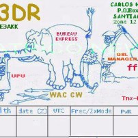 PROYECTO QSL CE3DR