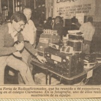 Feria radio Club PAC 1987