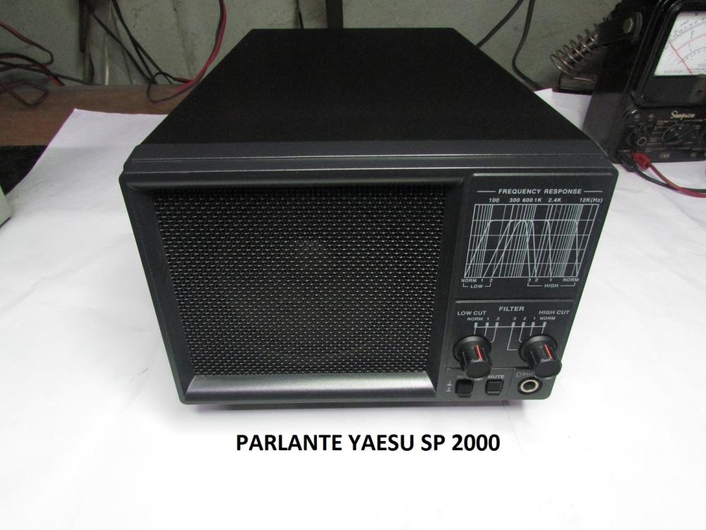 YAESU SP 2000 CON TECNOLOGIA DSP BHI (1/6)